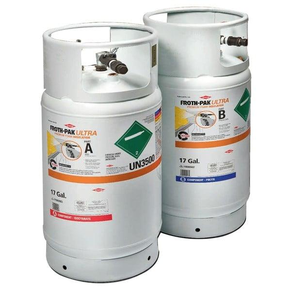 foam cylinder heating warming wrap
