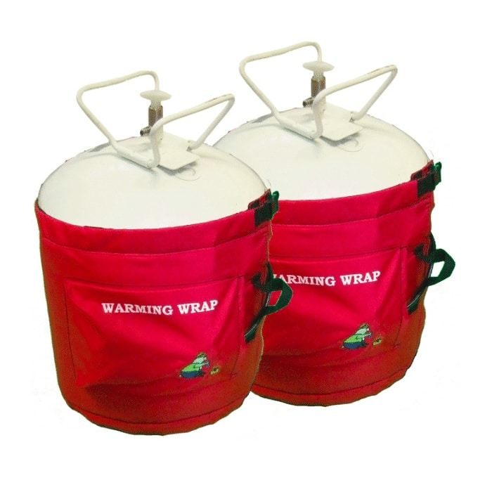 warming wrap for AB units