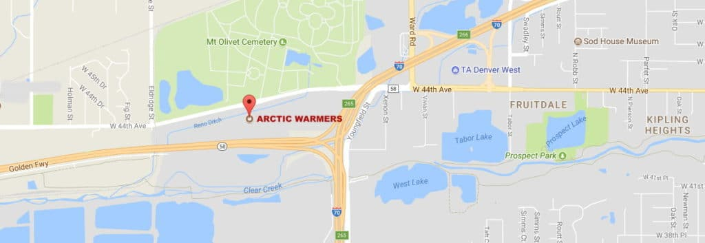 Arctic Warmers Map