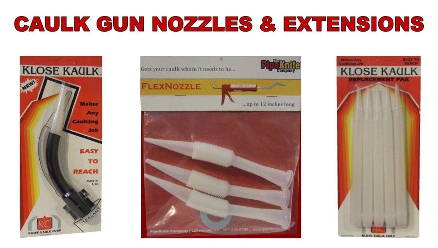 caulk gun nozzles extensions