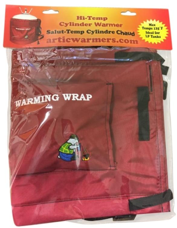 cylinder warmer wrap