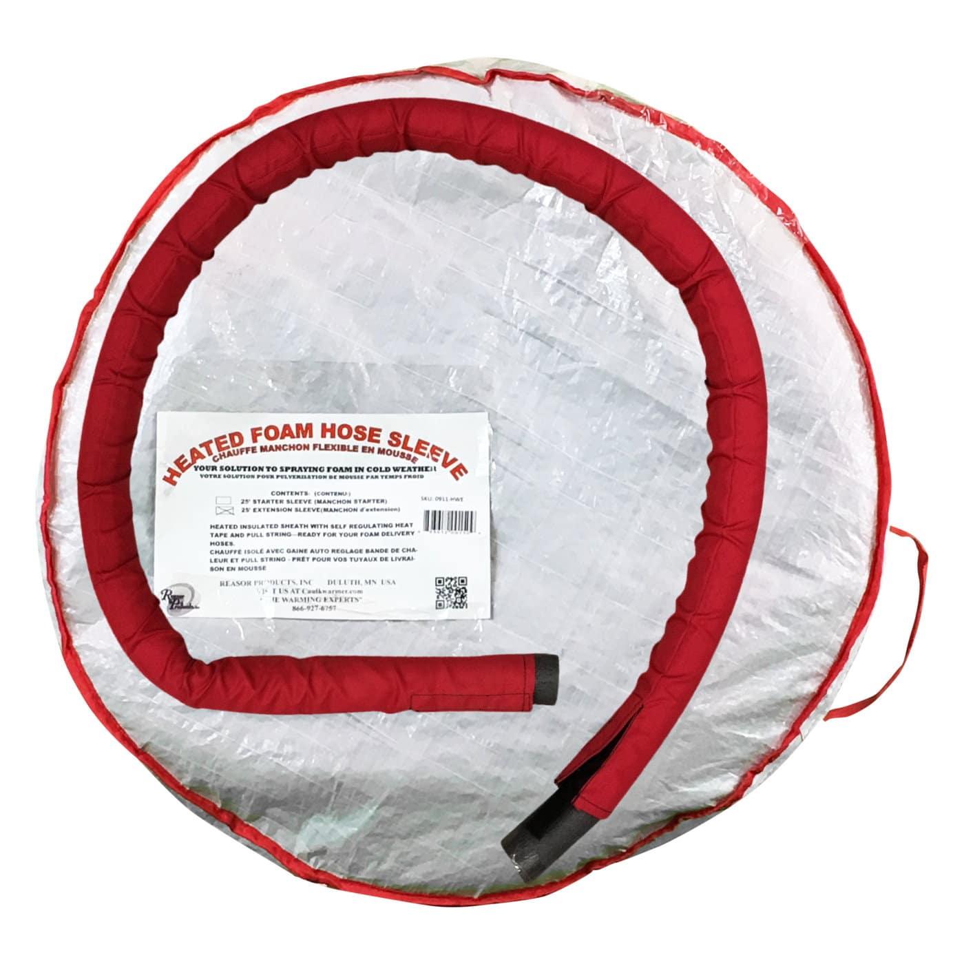 Heated Foam Hose Extension Warming Sleeve 25 Feet Long W