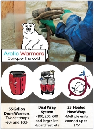 Arctic Warmers Spray Foam