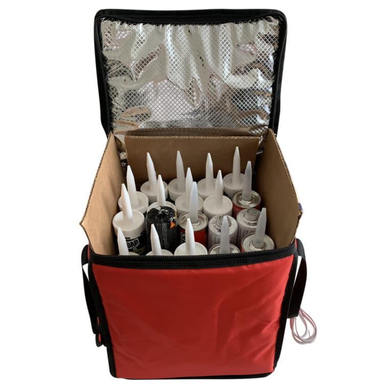caulk warming bag